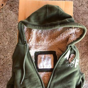 Abercrombie and Fitch Sherpa Parka